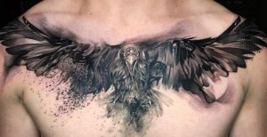 History of a Raven Tattoo