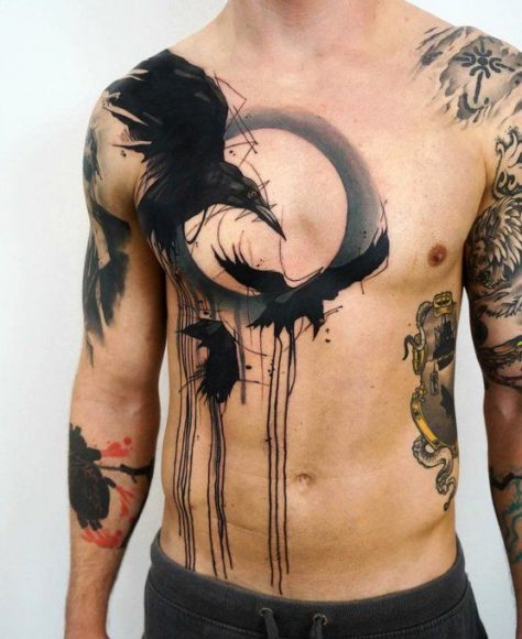 Ideal Body Part for a Raven Tattoo