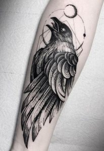 Raven Tattoo Islamic Culture