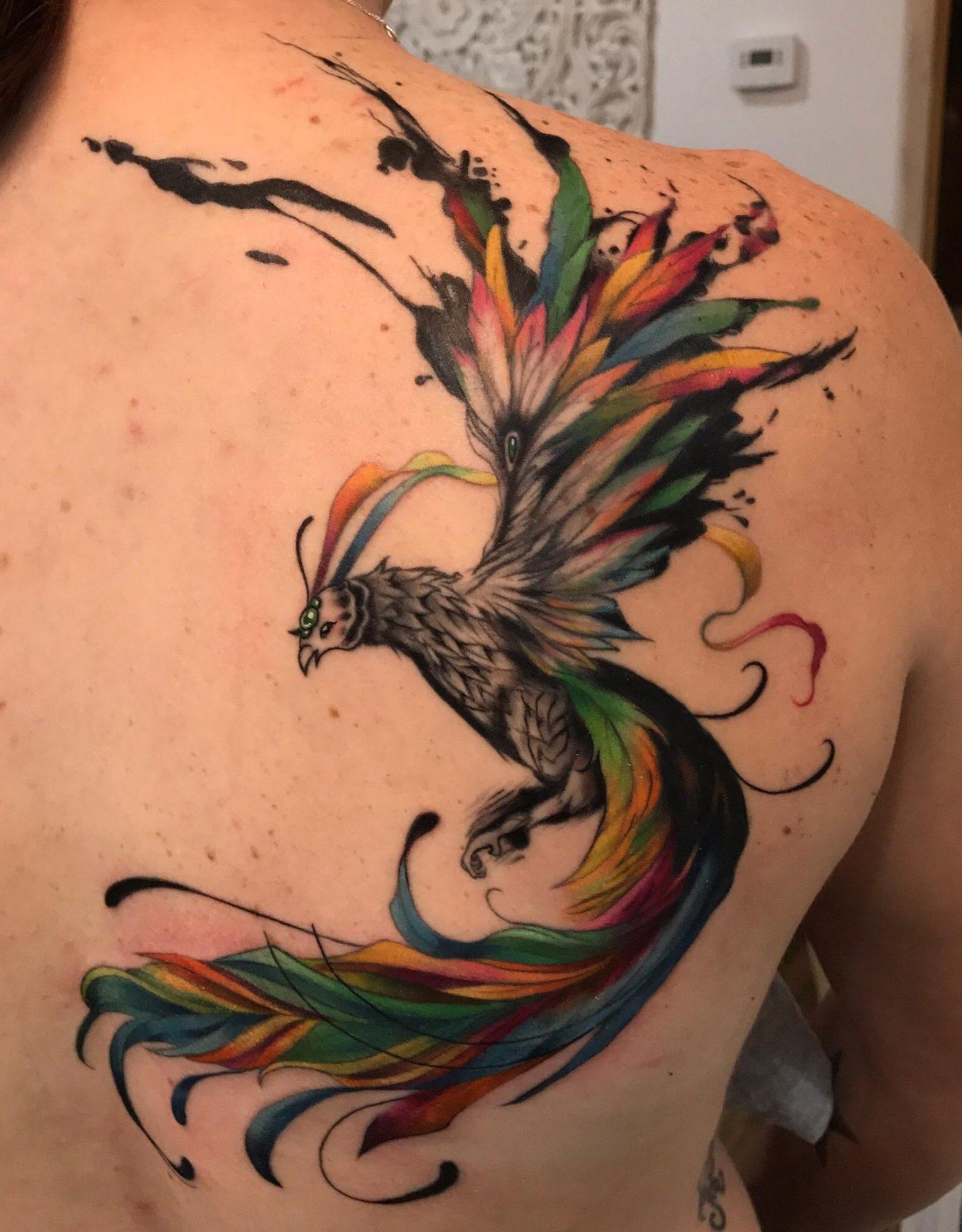 Best Spots for a Phoenix Tattoo