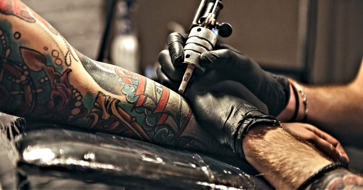 Dragon Tattoo Ideal Body Part