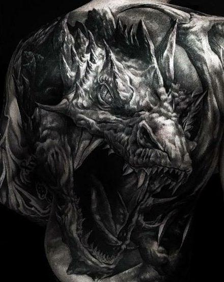Dragon Tattoo Mythology