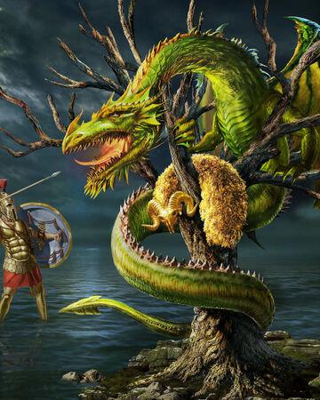 Drakon Kholkikos (Colchian Dragon)
