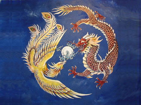 The Phoenix and Chinese dragon