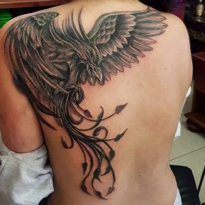 The phoenix landing tattoo