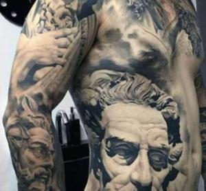 Greek Mythology Tattoo Design Options