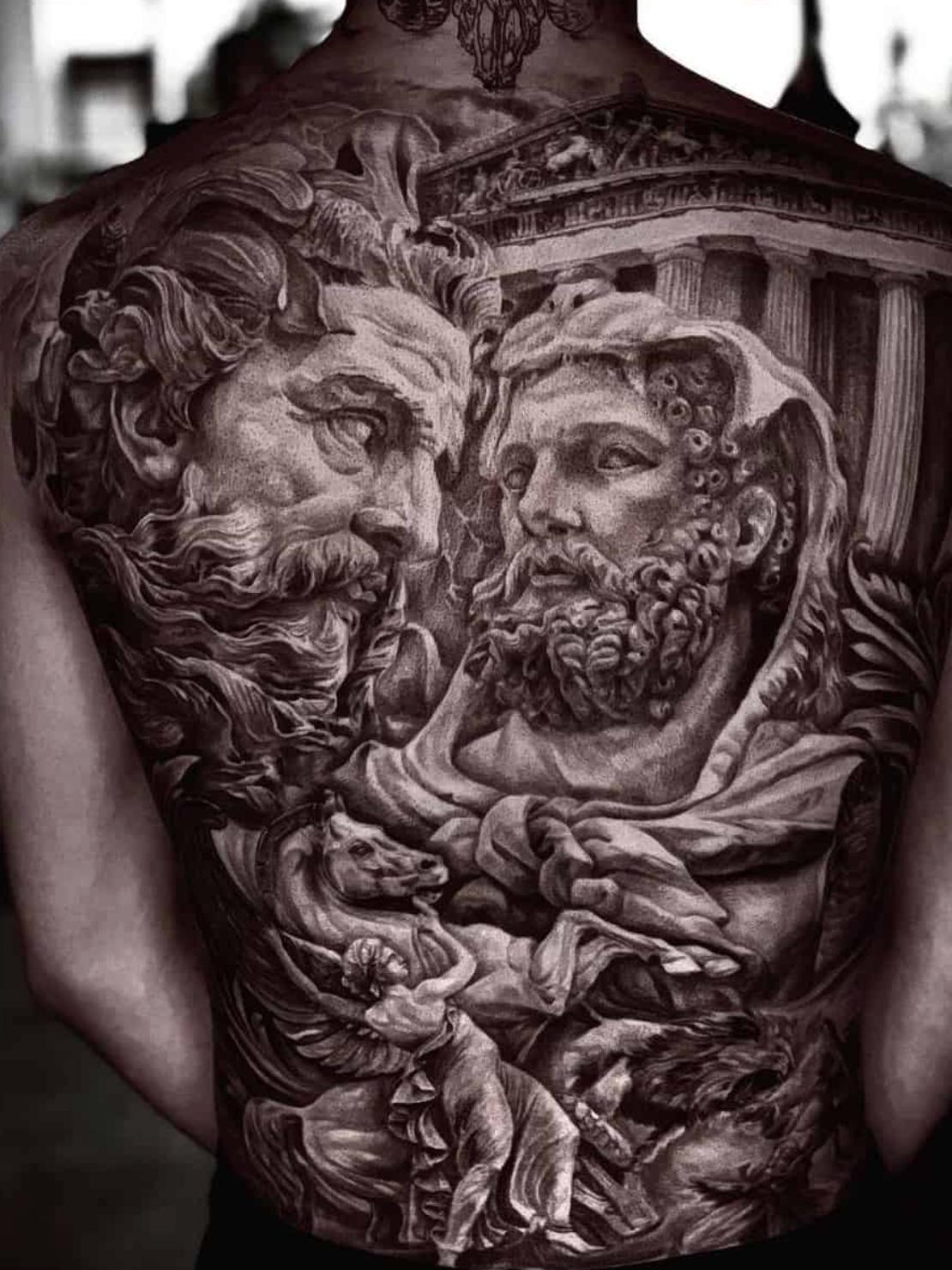 Legends and Stories of Greeks Gods